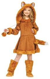 Детский костюм рыжей Лисички