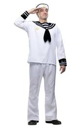 Белый костюм моряка