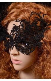 Карнавальная готическая маска