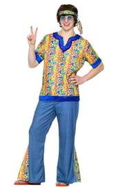 Подростковый костюм Хиппи 60-хх