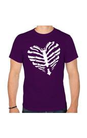 Мужская футболка с сердцем
