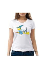 Женская футболка Лиза Симпсон Хэллоуин