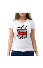 Женская футболка Наряд ведьмочки