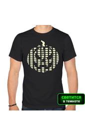 Мужская футболка с тыквой-эквалайзером