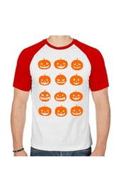 Мужская футболка с тыквами