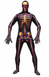 Костюм второй кожи Радиоактивный скелет
