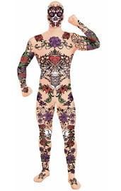 Костюм второй кожи Татуированный парень