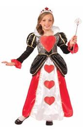 Костюм Королевы сердец для девочек