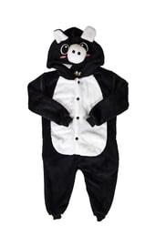 Детская пижама кигуруми Черная хрюшка