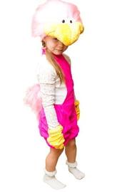 Розовый костюм Страуса