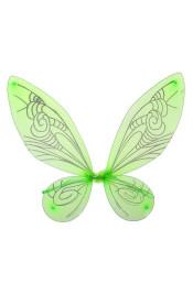 Зеленые крылья бабочки