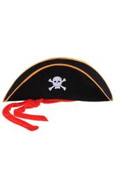 Шляпа пирата с черепом