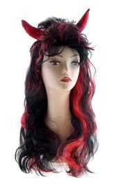 Длинный парик дьяволицы