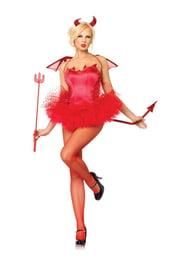 Красная юбка Туту