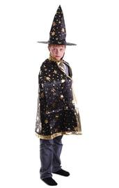 Детский костюм Звездочета черный