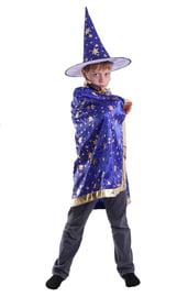 Детский костюм Звездочета синий