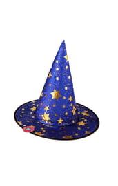 Синяя шляпа со звездами