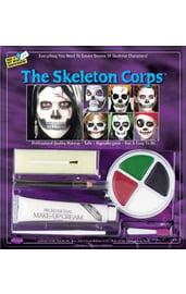 Набор для грима скелета