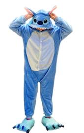 Детская пижама Кигуруми синий Стич