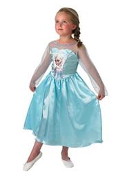 Атласное платье Эльзы из Холодного Сердца