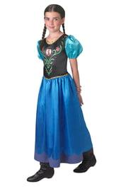 Классическое платье Анны из Холодного Сердца