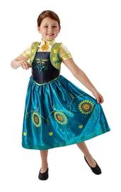 Костюм Анны Фроузен с цветами