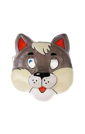 Пластиковая маска Волк