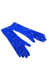 Синие перчатки Бурлеск