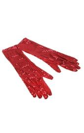 Красные перчатки Бурлеск