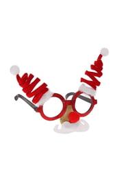 Новогодние очки с усиками