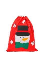 Новогодний мешок со снеговиком