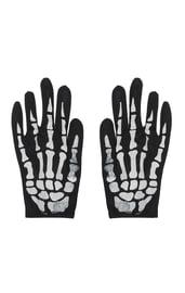 Перчатки костяшки скелета