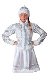 Подростковый костюм Снегурочки