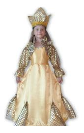 Детский костюм Золотой рыбки