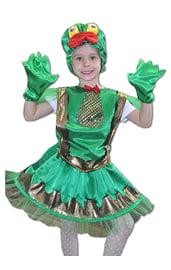 Детский костюм яркой лягушки