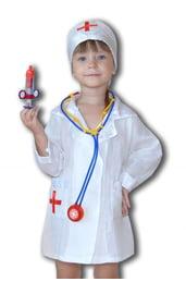 Костюм Доктора для девочек