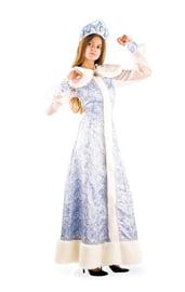 Шелковый костюм Снегурочки