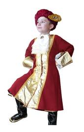 Бордовый костюм Вельможи