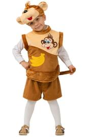 Плюшевый костюм обезьянки