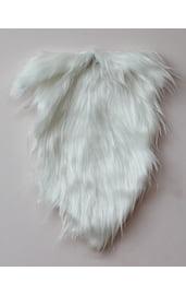 Меховая белая борода