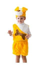 Желтый костюм собачки
