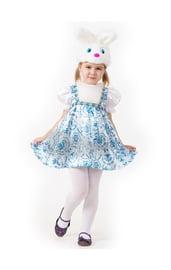Детский костюм зайки гжель