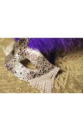 Карнавальная маска Снежная Королева
