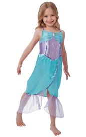 Платье русалочки фиолетово-голубое
