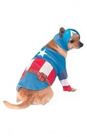 Костюм для собаки Капитан Америка