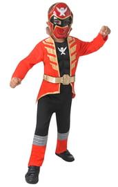 Детский костюм Красного Рейнджера