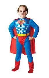 Детский костюм Супермена с мышцами