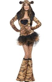 Женский костюм тигрицы