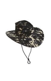 Ковбойская шляпа пиксельный камуфляж