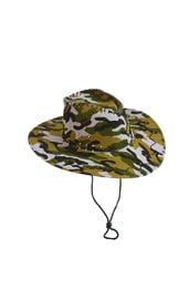 Камуфляжная ковбойская шляпа